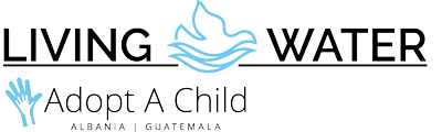 Living Water Adopt-a-Child Logo - nero e blu