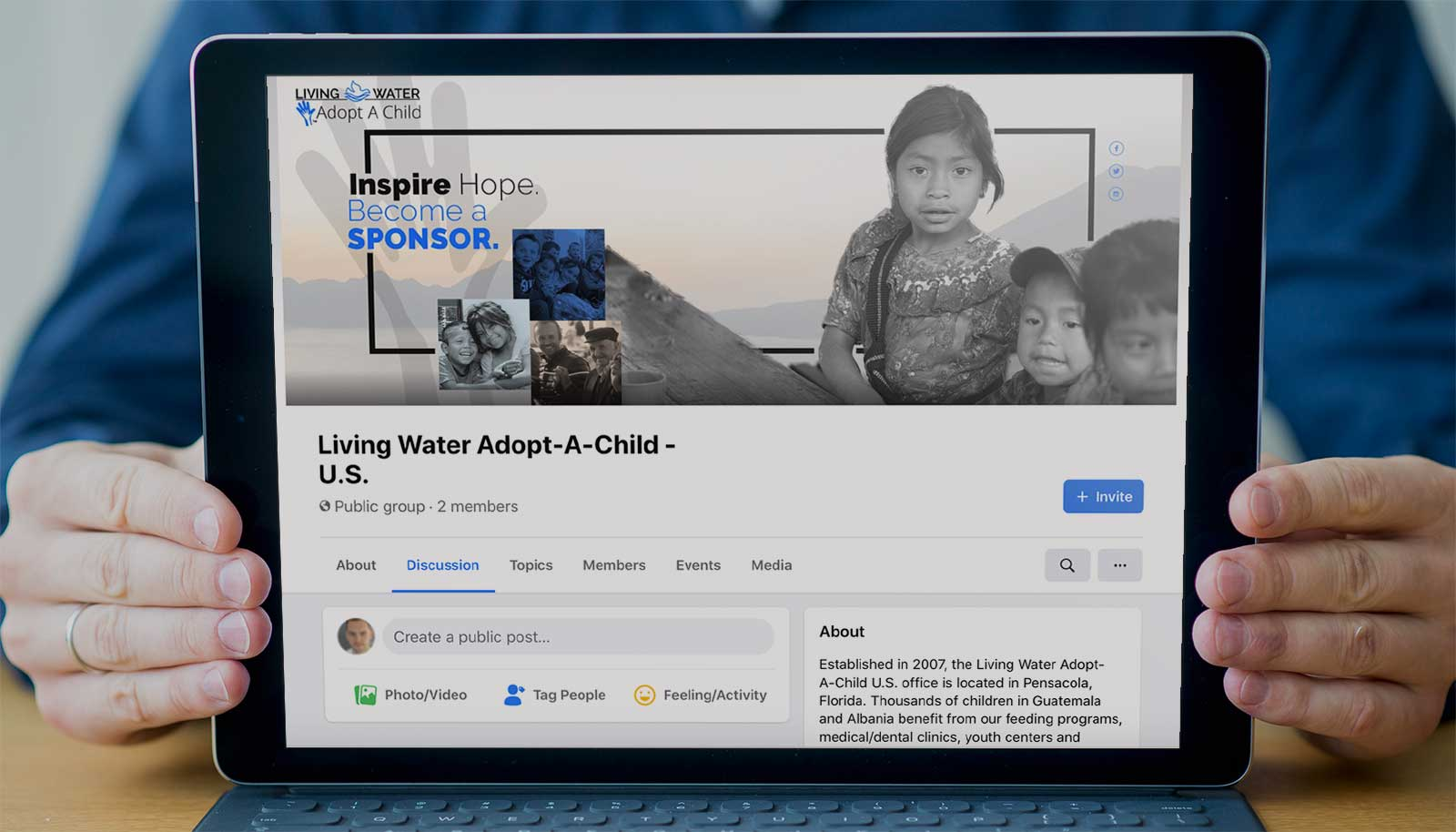 Living Water Adopt-A-Child Gruppo Facebook USA